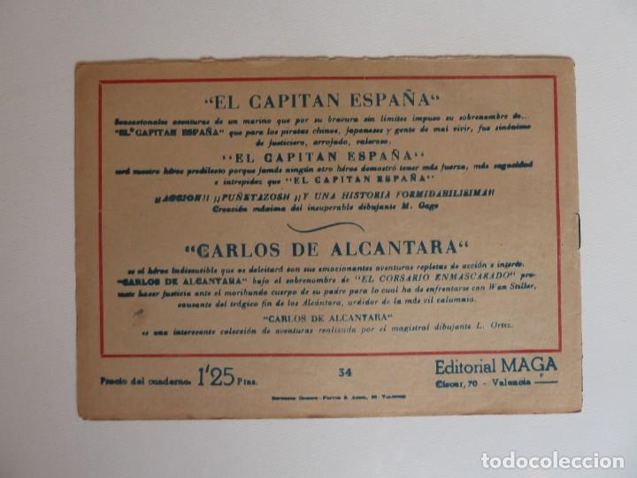 Tebeos: Dan Barry el terremoto, colección completa, suelta, 76 ejemplares de José Ortiz, Maga 1954. - Foto 68 - 277152988