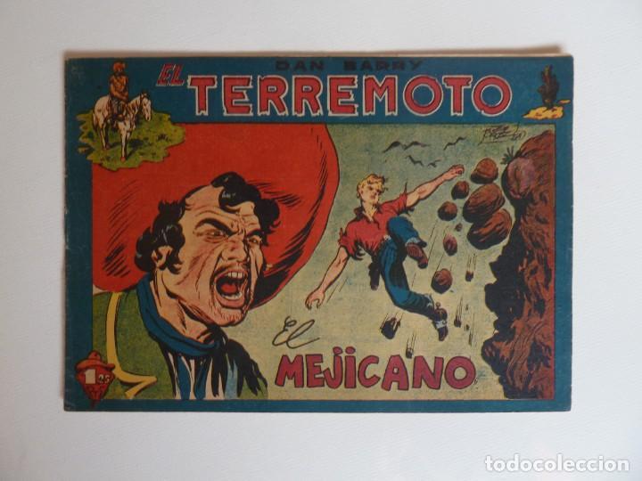 Tebeos: Dan Barry el terremoto, colección completa, suelta, 76 ejemplares de José Ortiz, Maga 1954. - Foto 69 - 277152988