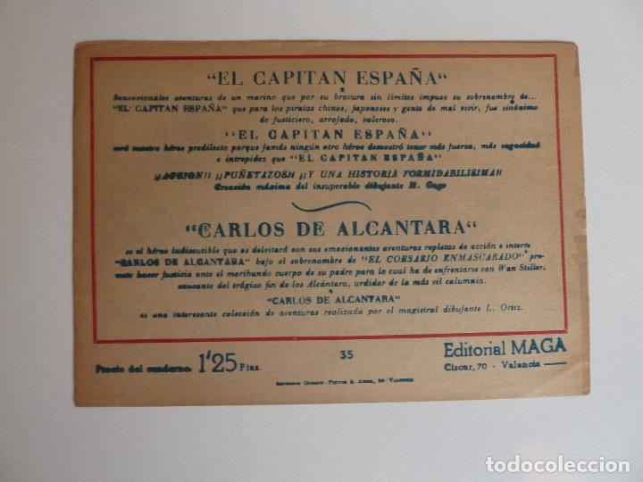 Tebeos: Dan Barry el terremoto, colección completa, suelta, 76 ejemplares de José Ortiz, Maga 1954. - Foto 70 - 277152988