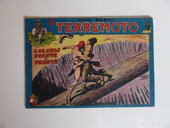Tebeos: Dan Barry el terremoto, colección completa, suelta, 76 ejemplares de José Ortiz, Maga 1954. - Foto 71 - 277152988