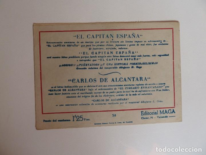 Tebeos: Dan Barry el terremoto, colección completa, suelta, 76 ejemplares de José Ortiz, Maga 1954. - Foto 72 - 277152988