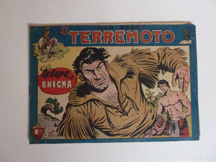 Tebeos: Dan Barry el terremoto, colección completa, suelta, 76 ejemplares de José Ortiz, Maga 1954. - Foto 73 - 277152988