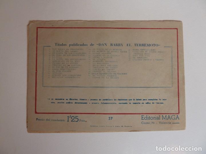 Tebeos: Dan Barry el terremoto, colección completa, suelta, 76 ejemplares de José Ortiz, Maga 1954. - Foto 74 - 277152988
