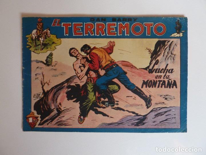 Tebeos: Dan Barry el terremoto, colección completa, suelta, 76 ejemplares de José Ortiz, Maga 1954. - Foto 75 - 277152988