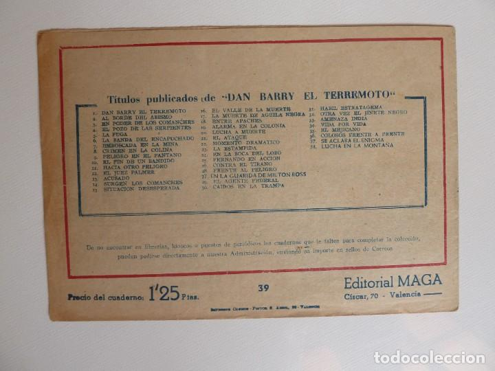 Tebeos: Dan Barry el terremoto, colección completa, suelta, 76 ejemplares de José Ortiz, Maga 1954. - Foto 78 - 277152988