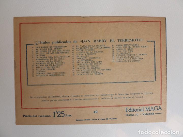 Tebeos: Dan Barry el terremoto, colección completa, suelta, 76 ejemplares de José Ortiz, Maga 1954. - Foto 80 - 277152988