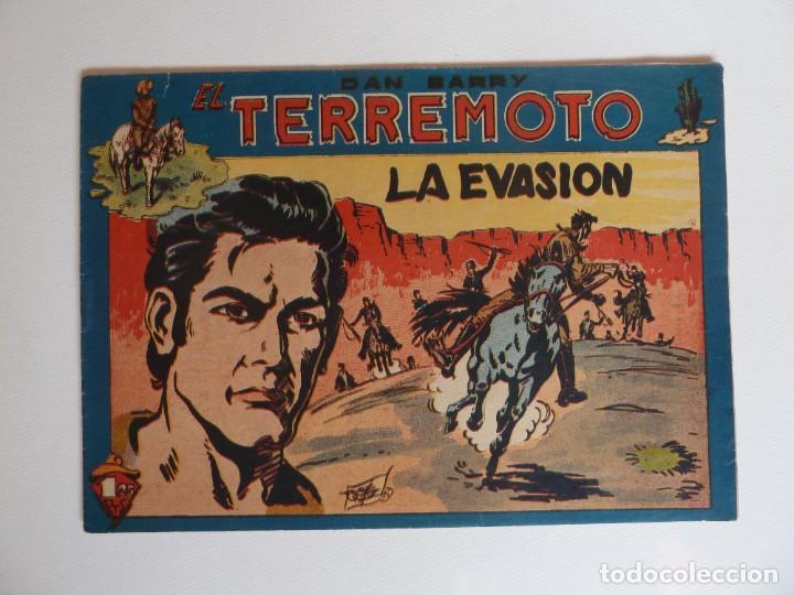 Tebeos: Dan Barry el terremoto, colección completa, suelta, 76 ejemplares de José Ortiz, Maga 1954. - Foto 81 - 277152988