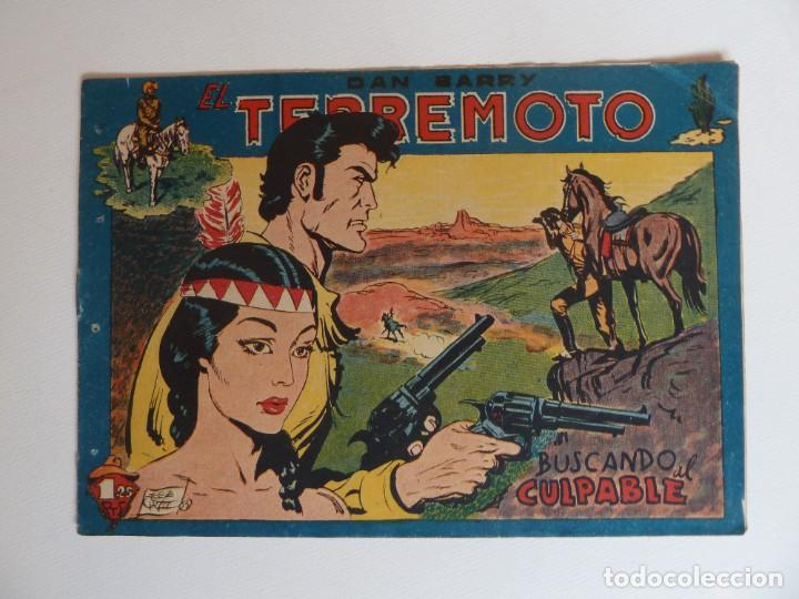 Tebeos: Dan Barry el terremoto, colección completa, suelta, 76 ejemplares de José Ortiz, Maga 1954. - Foto 83 - 277152988