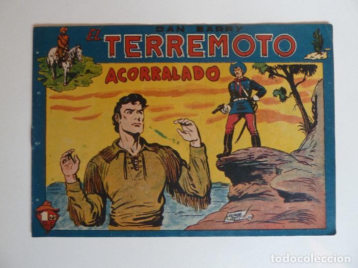 Tebeos: Dan Barry el terremoto, colección completa, suelta, 76 ejemplares de José Ortiz, Maga 1954. - Foto 85 - 277152988