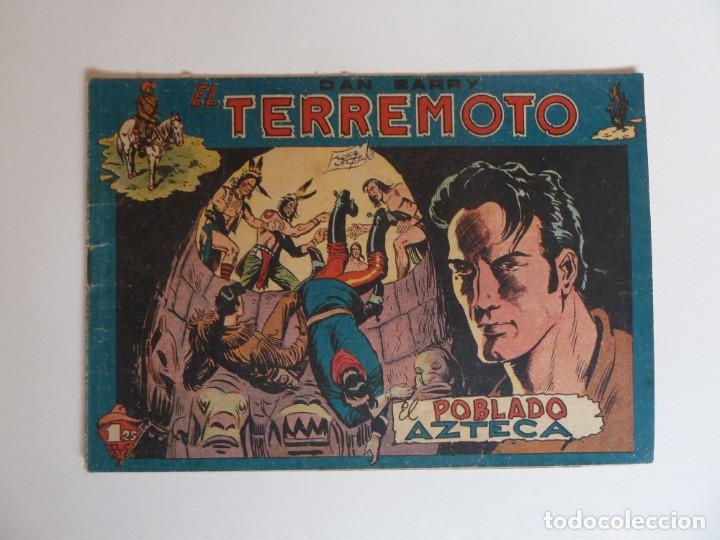Tebeos: Dan Barry el terremoto, colección completa, suelta, 76 ejemplares de José Ortiz, Maga 1954. - Foto 87 - 277152988