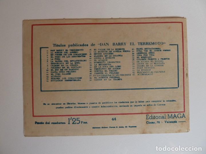 Tebeos: Dan Barry el terremoto, colección completa, suelta, 76 ejemplares de José Ortiz, Maga 1954. - Foto 88 - 277152988