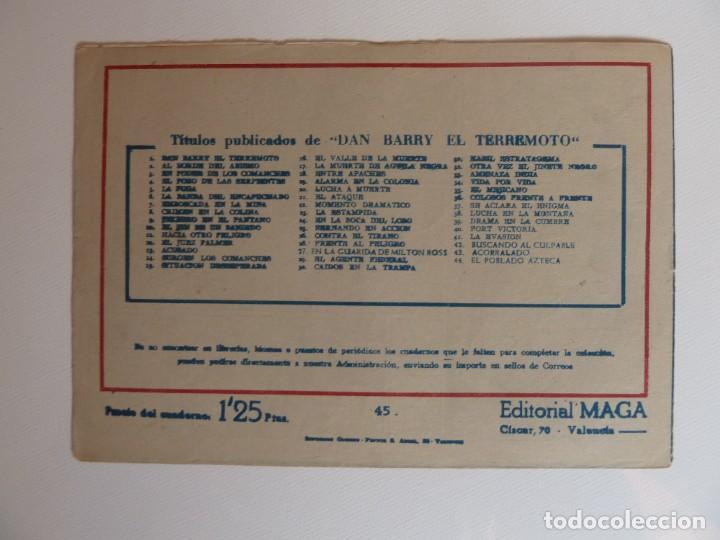 Tebeos: Dan Barry el terremoto, colección completa, suelta, 76 ejemplares de José Ortiz, Maga 1954. - Foto 90 - 277152988