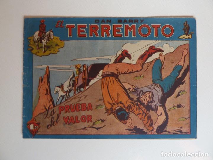 Tebeos: Dan Barry el terremoto, colección completa, suelta, 76 ejemplares de José Ortiz, Maga 1954. - Foto 93 - 277152988