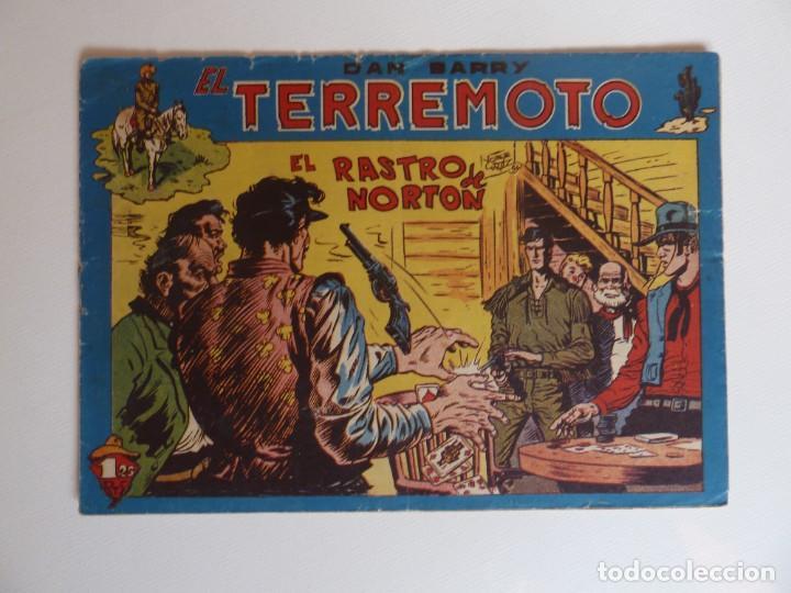 Tebeos: Dan Barry el terremoto, colección completa, suelta, 76 ejemplares de José Ortiz, Maga 1954. - Foto 95 - 277152988