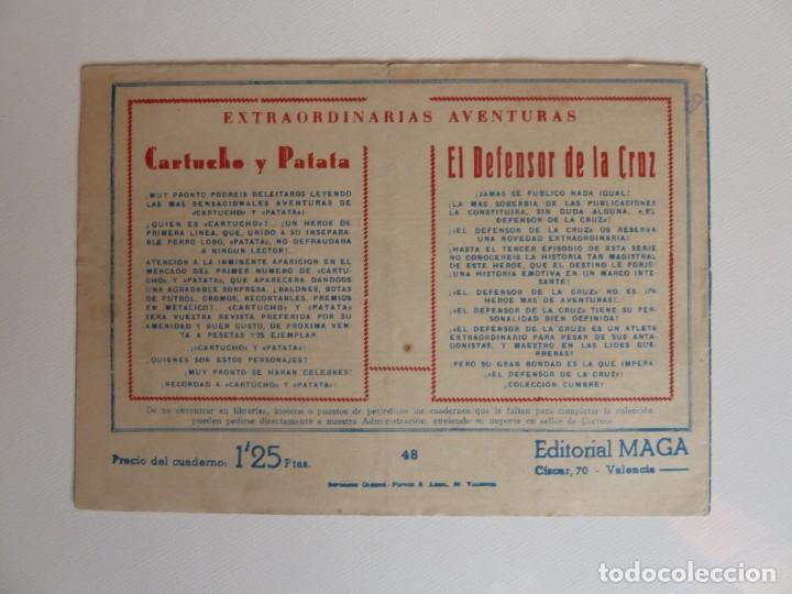Tebeos: Dan Barry el terremoto, colección completa, suelta, 76 ejemplares de José Ortiz, Maga 1954. - Foto 96 - 277152988