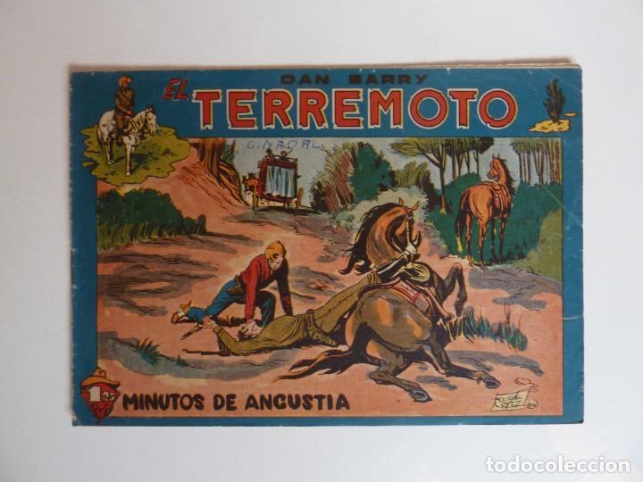 Tebeos: Dan Barry el terremoto, colección completa, suelta, 76 ejemplares de José Ortiz, Maga 1954. - Foto 97 - 277152988