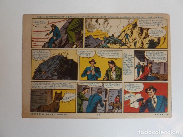 Tebeos: Dan Barry el terremoto, colección completa, suelta, 76 ejemplares de José Ortiz, Maga 1954. - Foto 98 - 277152988