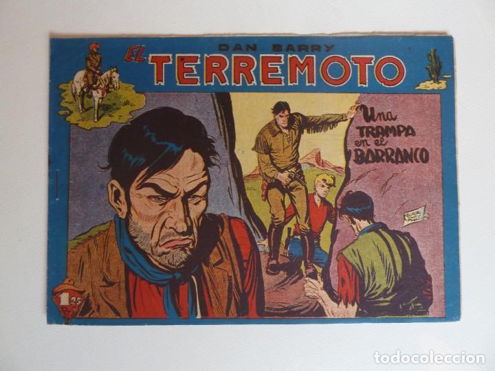 Tebeos: Dan Barry el terremoto, colección completa, suelta, 76 ejemplares de José Ortiz, Maga 1954. - Foto 99 - 277152988