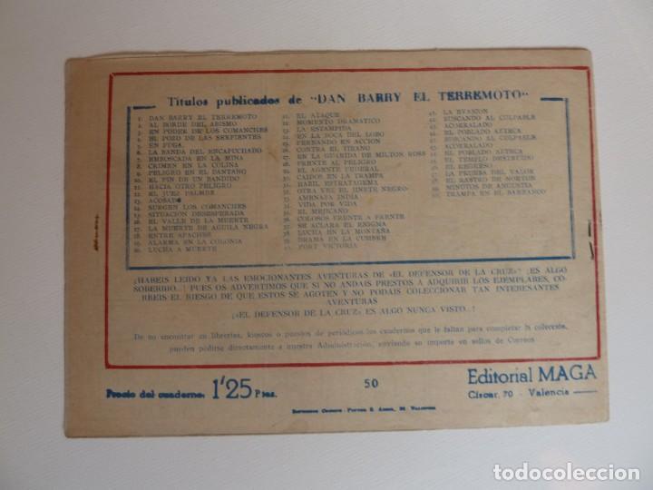 Tebeos: Dan Barry el terremoto, colección completa, suelta, 76 ejemplares de José Ortiz, Maga 1954. - Foto 100 - 277152988