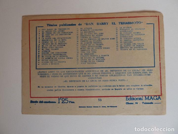 Tebeos: Dan Barry el terremoto, colección completa, suelta, 76 ejemplares de José Ortiz, Maga 1954. - Foto 102 - 277152988