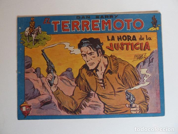 Tebeos: Dan Barry el terremoto, colección completa, suelta, 76 ejemplares de José Ortiz, Maga 1954. - Foto 103 - 277152988