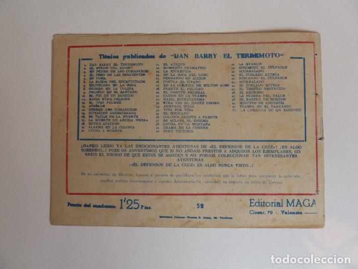 Tebeos: Dan Barry el terremoto, colección completa, suelta, 76 ejemplares de José Ortiz, Maga 1954. - Foto 104 - 277152988
