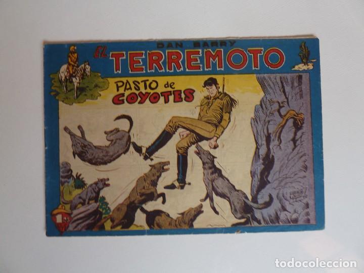Tebeos: Dan Barry el terremoto, colección completa, suelta, 76 ejemplares de José Ortiz, Maga 1954. - Foto 105 - 277152988