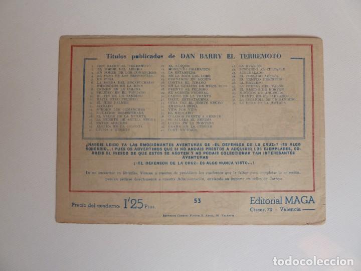 Tebeos: Dan Barry el terremoto, colección completa, suelta, 76 ejemplares de José Ortiz, Maga 1954. - Foto 106 - 277152988
