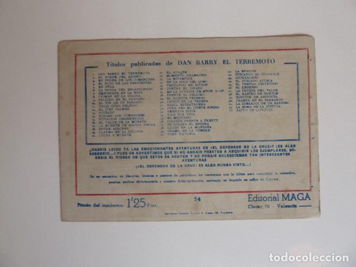 Tebeos: Dan Barry el terremoto, colección completa, suelta, 76 ejemplares de José Ortiz, Maga 1954. - Foto 108 - 277152988