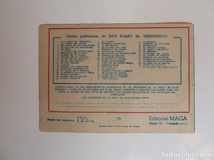 Tebeos: Dan Barry el terremoto, colección completa, suelta, 76 ejemplares de José Ortiz, Maga 1954. - Foto 110 - 277152988