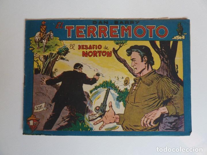 Tebeos: Dan Barry el terremoto, colección completa, suelta, 76 ejemplares de José Ortiz, Maga 1954. - Foto 111 - 277152988