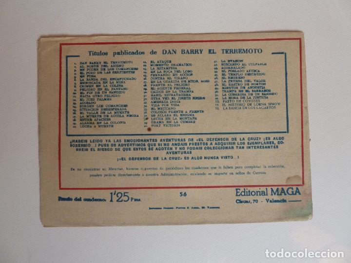 Tebeos: Dan Barry el terremoto, colección completa, suelta, 76 ejemplares de José Ortiz, Maga 1954. - Foto 112 - 277152988