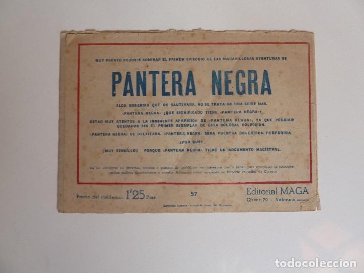 Tebeos: Dan Barry el terremoto, colección completa, suelta, 76 ejemplares de José Ortiz, Maga 1954. - Foto 114 - 277152988