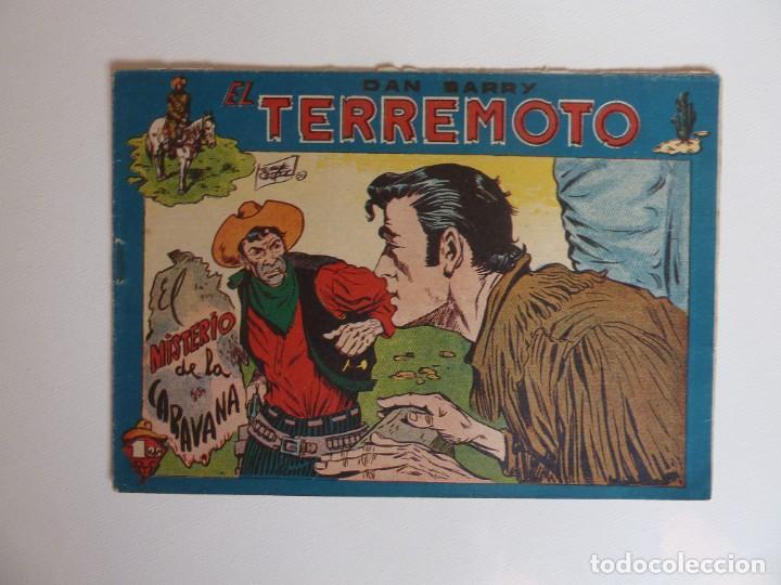 Tebeos: Dan Barry el terremoto, colección completa, suelta, 76 ejemplares de José Ortiz, Maga 1954. - Foto 115 - 277152988