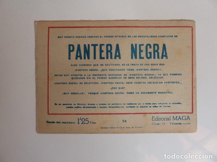 Tebeos: Dan Barry el terremoto, colección completa, suelta, 76 ejemplares de José Ortiz, Maga 1954. - Foto 116 - 277152988