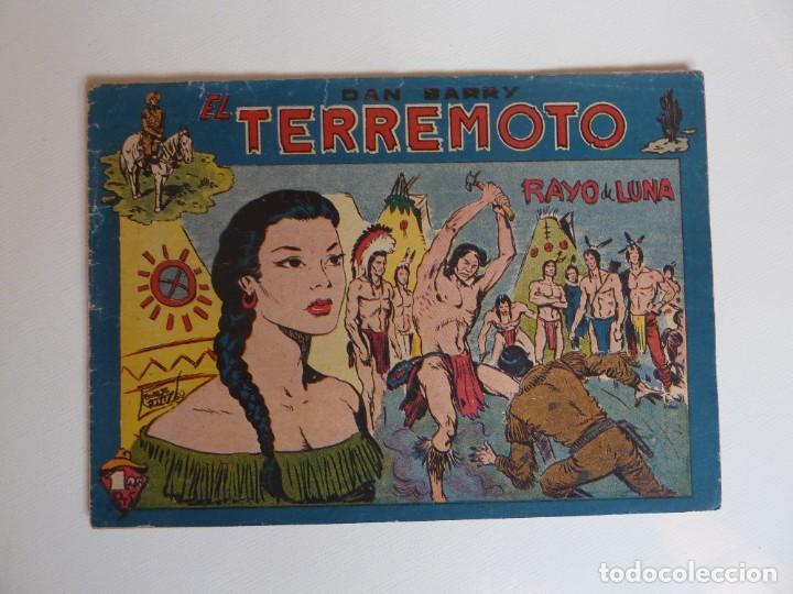 Tebeos: Dan Barry el terremoto, colección completa, suelta, 76 ejemplares de José Ortiz, Maga 1954. - Foto 117 - 277152988
