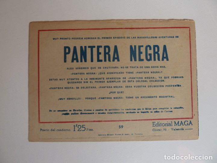 Tebeos: Dan Barry el terremoto, colección completa, suelta, 76 ejemplares de José Ortiz, Maga 1954. - Foto 118 - 277152988