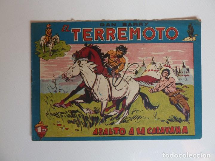 Tebeos: Dan Barry el terremoto, colección completa, suelta, 76 ejemplares de José Ortiz, Maga 1954. - Foto 119 - 277152988