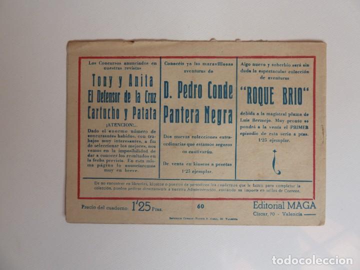 Tebeos: Dan Barry el terremoto, colección completa, suelta, 76 ejemplares de José Ortiz, Maga 1954. - Foto 120 - 277152988