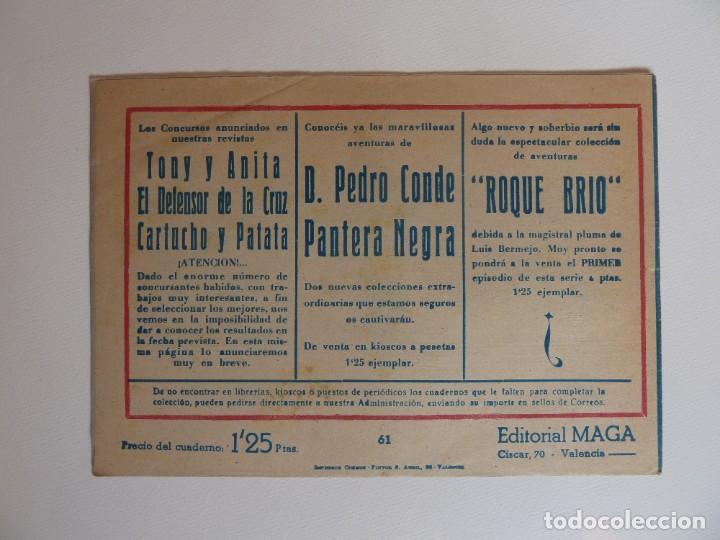 Tebeos: Dan Barry el terremoto, colección completa, suelta, 76 ejemplares de José Ortiz, Maga 1954. - Foto 122 - 277152988