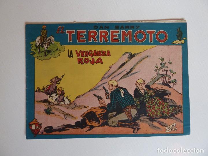 Tebeos: Dan Barry el terremoto, colección completa, suelta, 76 ejemplares de José Ortiz, Maga 1954. - Foto 123 - 277152988