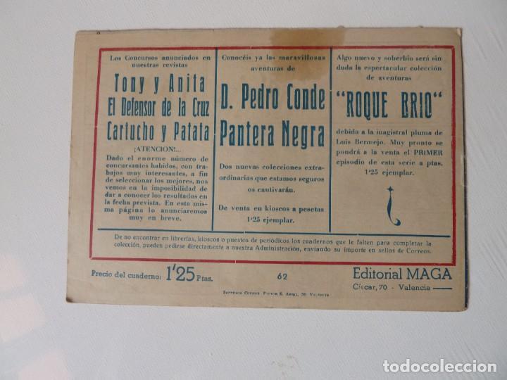 Tebeos: Dan Barry el terremoto, colección completa, suelta, 76 ejemplares de José Ortiz, Maga 1954. - Foto 124 - 277152988