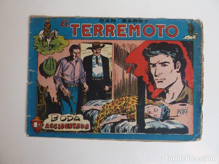 Tebeos: Dan Barry el terremoto, colección completa, suelta, 76 ejemplares de José Ortiz, Maga 1954. - Foto 125 - 277152988