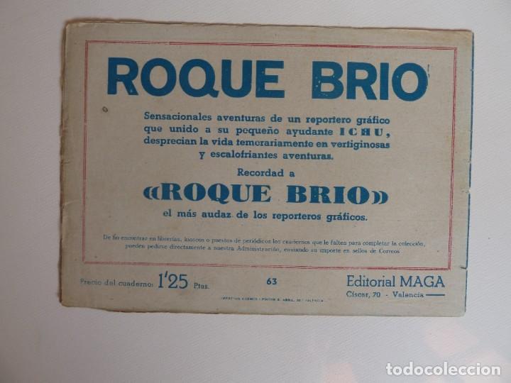 Tebeos: Dan Barry el terremoto, colección completa, suelta, 76 ejemplares de José Ortiz, Maga 1954. - Foto 126 - 277152988