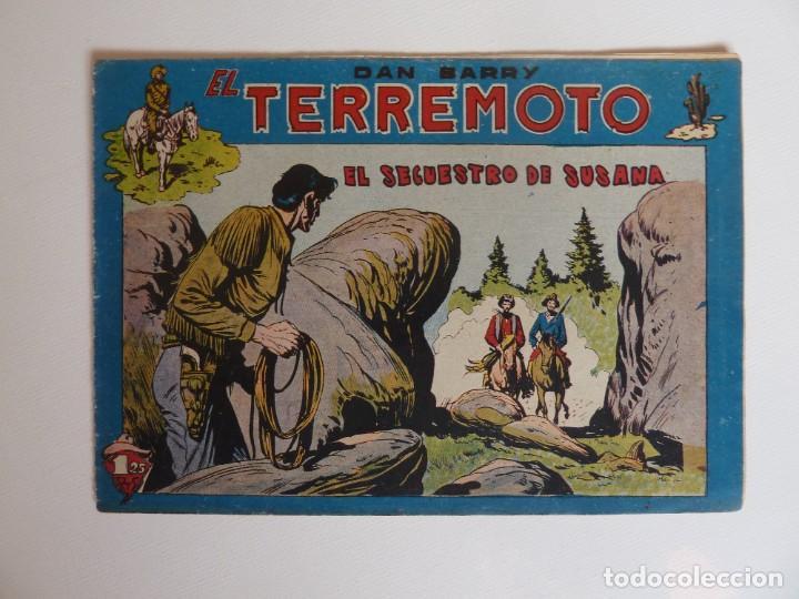 Tebeos: Dan Barry el terremoto, colección completa, suelta, 76 ejemplares de José Ortiz, Maga 1954. - Foto 127 - 277152988