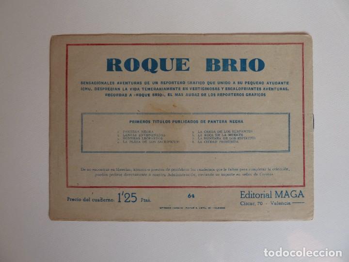 Tebeos: Dan Barry el terremoto, colección completa, suelta, 76 ejemplares de José Ortiz, Maga 1954. - Foto 128 - 277152988