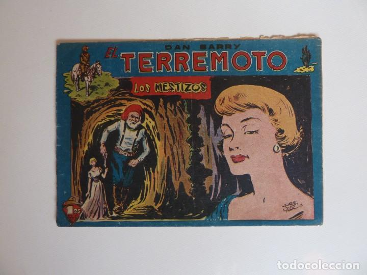 Tebeos: Dan Barry el terremoto, colección completa, suelta, 76 ejemplares de José Ortiz, Maga 1954. - Foto 131 - 277152988