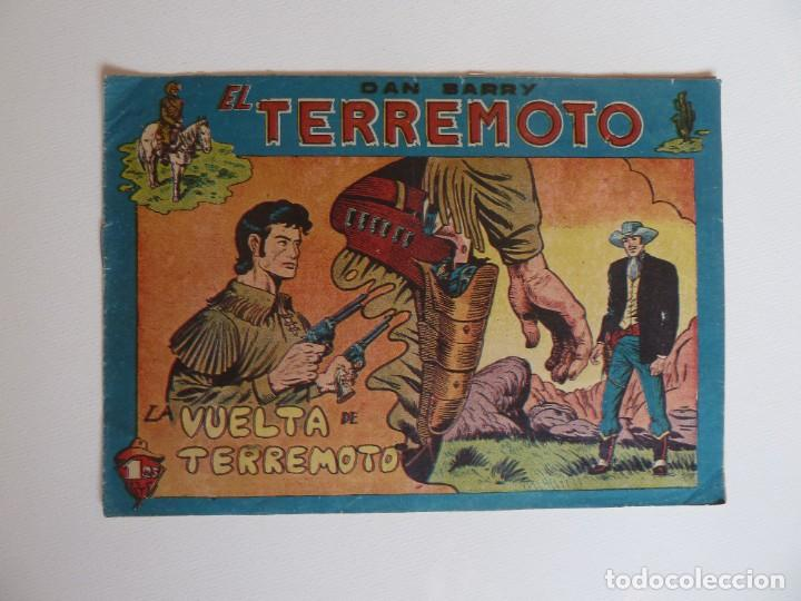 Tebeos: Dan Barry el terremoto, colección completa, suelta, 76 ejemplares de José Ortiz, Maga 1954. - Foto 135 - 277152988