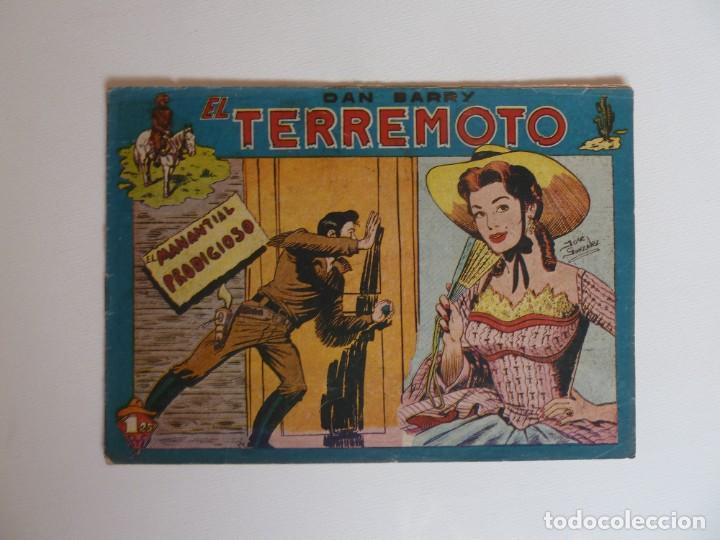 Tebeos: Dan Barry el terremoto, colección completa, suelta, 76 ejemplares de José Ortiz, Maga 1954. - Foto 139 - 277152988