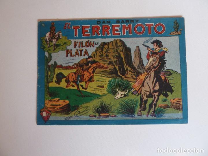 Tebeos: Dan Barry el terremoto, colección completa, suelta, 76 ejemplares de José Ortiz, Maga 1954. - Foto 141 - 277152988